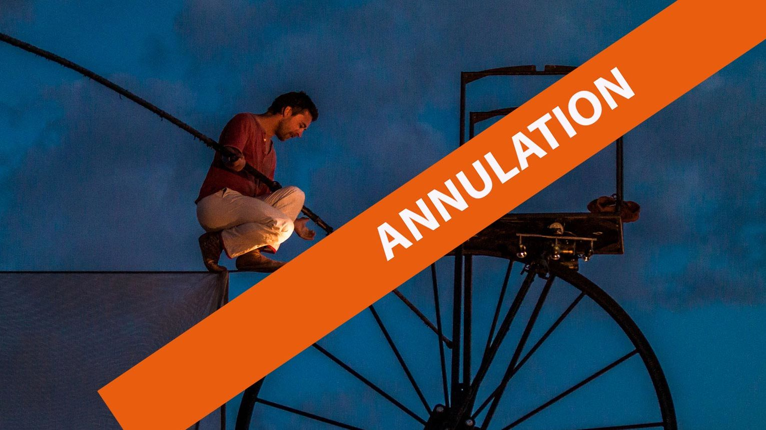 Artiste funambule - mention annulation